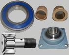 Shafts & Bearings, Housed Bearing Assembly,Ball Bearings,Oilite Bushes